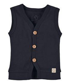 Look at this #zulilyfind! Navy Spencer Vest - Infant & Toddler by Those Baby Basics #zulilyfinds