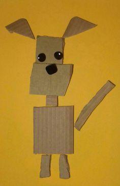 Lavoretti d'autunno da realizzare con il cartone riciclato on http://psicomamme.it