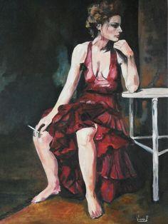 Ballerina di flamenco 50 x 70