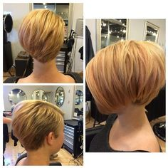 New Bob Haircut: Short Layered Hairstyles 2015