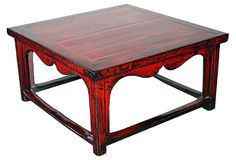 Beijing Red Coffee Table on OneKingsLane.com