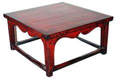 Beijing Red Coffee Table on OneKingsLane.com