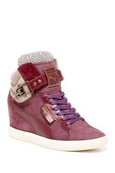 Alexander McQueen for PUMA Joustesse Mid Wedge Sneaker