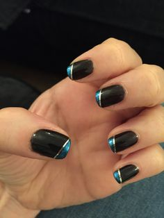 CND Shellac Blackpool with midnight tide additive