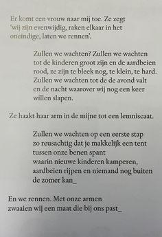 'Wij zijn evenwijdig' van Maud Vanhauwaert (www.wpg.be/wij-zijn-evenwijdig)