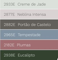 Conexão Décor Combinações de tonalidades com a cor de 2018 eleita pela Eucatex Tintas, verde Eucalipto. http://conexaodecor.com/2017/11/as-cores-de-2018-tintas-coral-eucatex-suvinil/