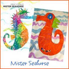 seahorses, eric carle