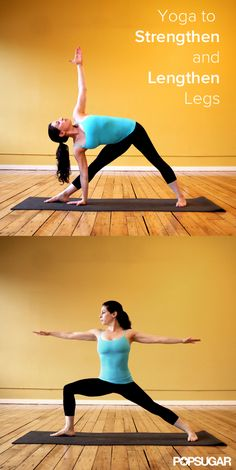 #Yoga Poses to Strengthen and Lengthen Legs #fitness #JoyFitness #wellbeing
