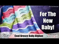 Cool Breeze Baby Ripple Crochet Pattern | Red Heart