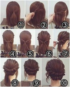 hair accessories wedding hair wedding hair wedding hair updos kardashian wedding hair hair with veils hair styles long hair down wedding hair dos Up Hairstyles, Simple Hairstyles, Hairstyle Ideas, Simple Hairdos, Step By Step Hairstyles, Hairstyles Pictures, Hollywood Hairstyles, Interview Hairstyles, Updo Hairstyles Tutorials