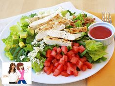 Hungry Girl's Healthy Spin on Robert Pattinson's Cobb Salad