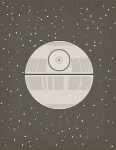 Death Star poster | 21 Great Geek Gifts For Every Fandom