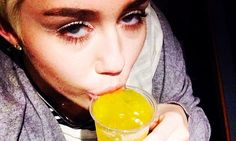 Miley Cyrus puffs on suspicious looking cigarette in video
