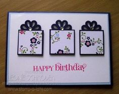 Leonie Schroeder card using blossom punch. Too cool!!