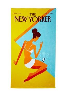 The New Yorker Dropped Call Towel | Shop Home at Nasty Gal