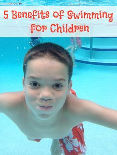 East Coast Mama: 5 Benefits of Swimming for Children! #FunnestSport