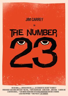Apparently this is a movie. But that's not why I pinned it. I pinned it because the number 23 is my favorite number. So, do with that what you will.
