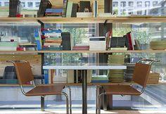 restaurante Bosco de Lobos coloniza el Colegio de Arquitectos de Madrid