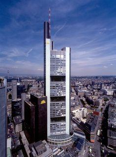 Commerzbank Headquarters | 1991-1997 | Frankfurt, Germany | Foster + Partners