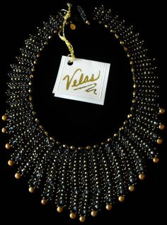 Beaded Jewelry Elegant St. Petersburg by VelasButtonsandBeads