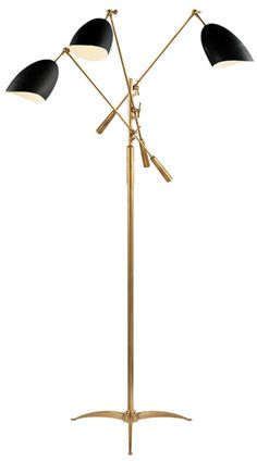 Allston Triple Arm Floor Lamp