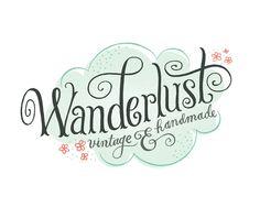 Wanderlust Logo - Mary Kate McDevitt