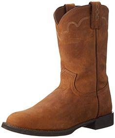 Justin Boots Men's Stampede Collection Roper,Tan Apache,1... https://www.amazon.com/dp/B005LC5U0W/ref=cm_sw_r_pi_dp_x_G8HSxbCTVW2BS