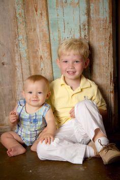 """The Boys <3"" Portrait Creations Professional Children's Portrait Studio in Charlotte, NC."