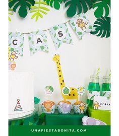 Fiesta infantil - Imprimibles de la selva
