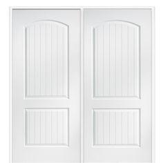 MMI Door 72 In. X 80 In. Smooth Cashal Left Hand Active Solid