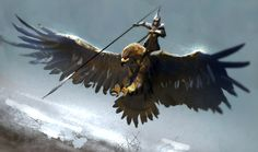 Giant Eagle Cavalry by Mac-tire.deviantart.com on @DeviantArt