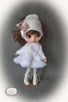 Winter rose 2. Set for Blythe. for Blythe/Pullip  dolls