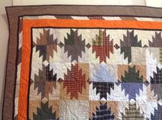 variation of the Scrappy  Mountain Majesties pattern.  Also on Quilter's Cache as Majestic Mountain.