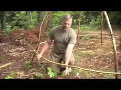Survival Shelter-Thatched Hut Basics