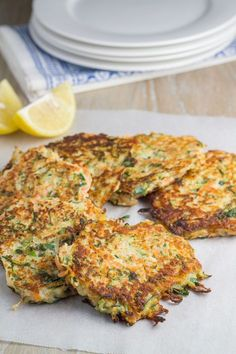 Zucchini and Sweet Potato Fritters - includes vegan option too. These fritters are packed full of flavour and are super easy to make.