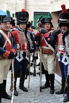 Voluntarios de Aragón. Despertar Napoleonico. Zaragoza 2011 by César Angel. Zaragoza, via Flickr