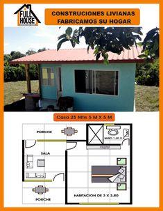 Pergola Connected To House Dream House Plans, Small House Plans, House Floor Plans, Patio Roof Covers, Bungalow House Design, Loft, Pergola Shade, Farmhouse Plans, Little Houses