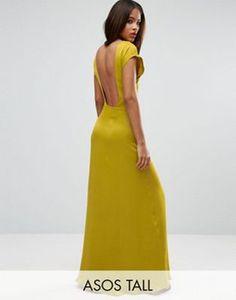ASOS TALL Open Square Back Maxi Dress