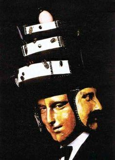 1972 Rothschild (Illuminati) party mask