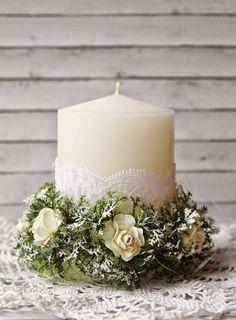 eleele-handmade: Home Decor - Candles - 5е Задание Цветочного Нового Года - Свечи