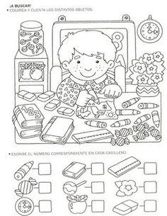 123 Manía actividades de matemática para imprimir, resolver y colorear - Marisolq Toro - Picasa Web Albums