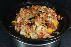 Healthy Slow Cooker, Multicooker, Russian Recipes, Sous Vide, Paella, Casserole, Pork, Food And Drink, Healthy Recipes