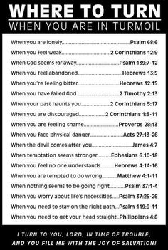 Bible verses that will give you hope and encouragement during the difficult and challenging times in your life. Prayer Scriptures, Bible Teachings, Bible Prayers, Faith Prayer, Bible Verses Quotes, Faith Quotes, Quotes From The Bible, Bible Verses For Hard Times, Book Of Mormon Scriptures