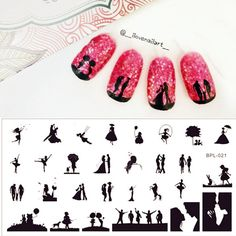 Sketch Pattern Nail Art Stamp Template Image Plate BORN PRETTY Nail Stamping Plates Set BP-L021 12.5 x 6.5cm