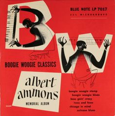A major inspiration to generations of improvising musicians, Albert Ammons is best remembered as an exciting pianist who inaugurated the Blue Note record label by hammering out blues and boogie duets with Meade Cd Album Covers, Music Covers, Lp Cover, Vinyl Cover, Cover Art, Blue Note Jazz, Francis Wolff, Jazz Poster, Classic Jazz