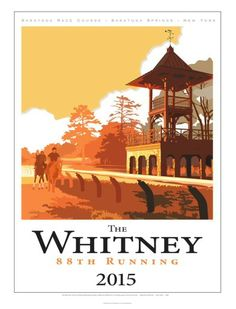 The new Whitney poster by artist Greg Montgomery