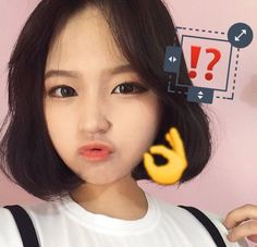 Image via We Heart It #asian #girl #korea #people #person #女の子 #cute #여자 #사람
