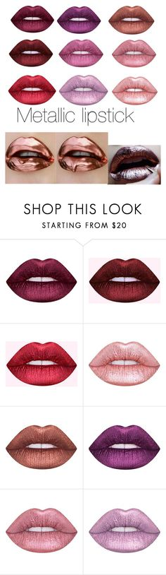 """👄"" by fionabrown1 ❤ liked on Polyvore featuring Lime Crime and Dreamgirl"