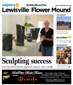 09/28 State Fair of Texas edition: Gretchen Jagolinzer of Lewisville finds creative outlet at the fair.