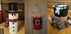 Decoraciones+navideñas+con+latas